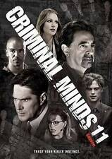 Criminal Minds: The Eleventh Season 11  (DVD, 2016, 6-Disc Set)