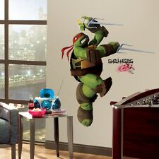 New Giant RAPHAEL WALL DECALS Teenage Mutant Ninja Turtles Stickers Kids Decor
