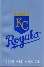 2005 Kansas City Royals Baseball MLB Media GUIDE