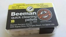 BEEMAN QUICK CLEANING PELLETS .20 cal. Airgun Clean Care Maintenance 80ct # 3865