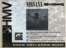 21/3/92 Pgn26 NIRVANA : NEVERMIND SINGLE ADVERT 7X11""