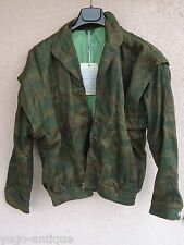 Yugoslavia Bosnia Serb Srpska 1994 war green tigerstripe lizard camo JACKET NEW