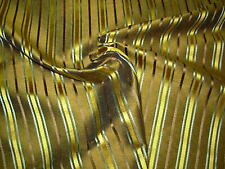 "~BTY~100% SILK~STROHEIM&ROMANN~"" SIAM SILK STRIPE"" UPHOLSTERY FABRIC FOR LESS~"
