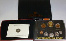 2007 PROOF DOUBLE DOLLAR SET - CANADIAN 8-COIN SET - CASE, BOX & CERTIFICATE