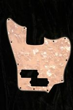 Squier Short Scale VM Jaguar Bass Pickguard. 4 Ply Aged Pearl