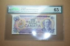 CANADA $10 1971 *TL1207490 - Replacement - PMG Graded GEM UNC 65