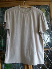 "Arco Baleno BEIGE SS T-SHIRT M 38"" CHEST **GC**"