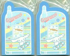 Sanrio Hello Kitty CINNAMOROLL Sticky Notes Cell Phone Set of 2 Memo Pads NEW