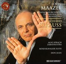 R. Strauss: Also sprach Zarathustra; Rosenkavalier Suite; Don Juan New CD