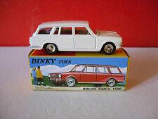 DINKY TOYS Atlas SIMCA 1500 BREAK en boite  éch 1/43 réf 507