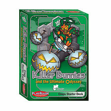 KILLER BUNNIES AND THE ULTIMATE ODYSSEY - CROPS STARTER DECK - CARD GAME