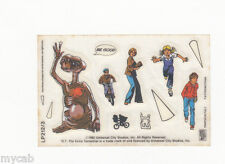 Letraset Action Transfers sheet LP212/3 cereal toy E T Extra Terrestrial 1982
