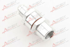 4AN Male To 4AN Female High Flow Billet Turbo Oil Feed Line Filter 80 Micron