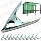12 x ★ MARKET STALL SPRING CLAMPS ★ LARGE METAL HEAVY DUTY CLIPS Tarpaulin Sheet