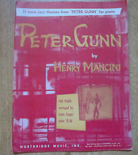 Peter Gunn by Henry Mancini, 11 Jazz Themes from the TV Production, scarce copy