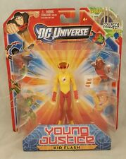 "DC Universe Young Justice Kid Flash Speed 4"" Action Figure 2011 Mattel toys NEW"