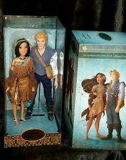 Disney Store Designer Pocahontas John Smith Doll Fairytale Limited Collection