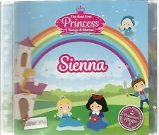 SIENNA - THE BEST EVER PRINCESS SONGS & STORIES PERSONALISED CHILDREN'S CD