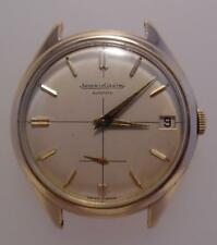 Vintage 1960s 1963 9ct Gold Gents Jaeger-LeCoultre Automatic Watch Working (B88)