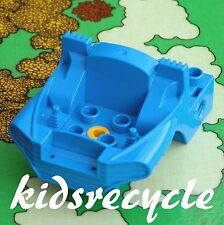 Lego DUPLO Toolo ACTION WHEELERS Part    COCKPIT / CABIN BASE (31196) 4x6 BLUE