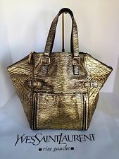 Yves Saint Laurent  Bag DOWNTOWN TOTE HANDBAG black-gold