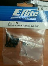 Eflite EFLH1172 bell mixer arm &pushrod set BCP