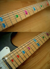 Space Invaders Coloured Fret Markers Inlay Sticker Decal Guitar