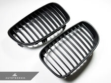 FULL REPLACEMENT MATTE BLACK FRONT GRILLE - BMW E82 E88 128I 135I 1M COUPE VERT