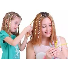 2pc Korean Kids Girls Fimo Roll  Braided Hair Accessories  Hair Tool
