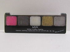 NYX Glitter Cream Palette color GCP01 Paradise Brand New & Sealed
