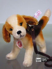 STEIFF Ltd BIGGIE BEAGLE DOG w jointed head - 034824 RETIRED