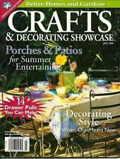 BHG - CRAFTS & DECORATING SHOWCASE July 2000 Porches & Patios Summer Projects