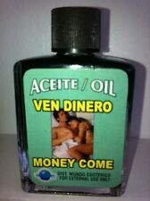 MYSTICAL / SPIRITUAL OIL (ACEITE) FOR SPELLS & ANOINTING 1/2 OZ MONEY COME