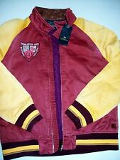 Scotch & Soda Cotton Omega Delta Rho Varsity Letter Jacket Coat NWT Large $379