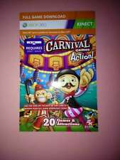 Carnival Kinect  Full Game Download Card for Xbox 360  Not a Disc Version