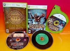 BioShock Limited Edition  XBOX 360 GAME COMPLETE 3 discs RARE w/ Soundtrack CD