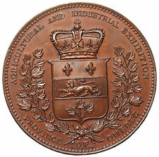 1880 Canada Quebec Agriculture Industrial Exposition Award Medal