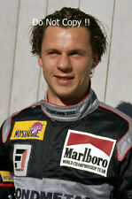Olivier Grouillard Fondmetal F1 Portrait 1991 Photograph