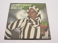 DENISE LASALLE Right Place Right Time LP 1987 USA Malaco MAL 7417 Near Mint!