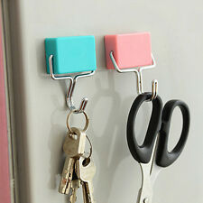 Super Suction Magnetic Hooks To Hang Free Microwave Refrigerator Trace Nail WB