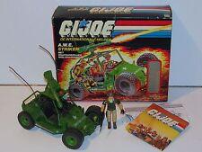 1985 GI JOE A.W.E. STRIKER w/ CRANKCASE v1 COMPLETE IN ORIGINAL BOX - HASBRO NL