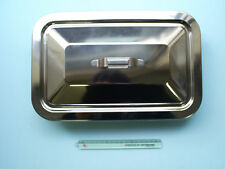 New product Stainless Steel Surgical instrument tray [with lid] Medium-scale
