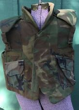 Post Vietnam Era US Army Body Armor Flak Jacket Shrapnel Fragmentation Vest
