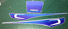 YAMAHA  XT600 3TB  Bianco Fuxia Kit Tabelle - adesivi/adhesives/stickers/decal