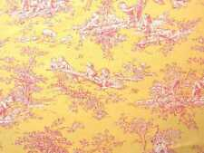~ P KAUFMANN CENTRAL PARK BABY MARIGOLD DECORATOR TOILE FABRIC BTY ~