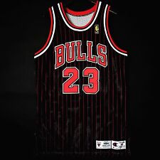 100% Authentic Michael Jordan 96 97 NBA @50th Champion Bulls Game Jersey Size 46