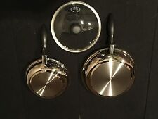"""Carico Ultra Tech II 9"""" and 11"""" Skillet Set - T304 Surgical Steel"""
