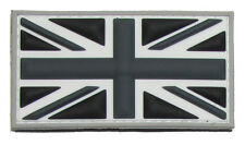 BRITISH FLAG UK GREAT BRITAIN UNION JACK SWAT 3D PVC HOOK & LOOP MILITARY PATCH