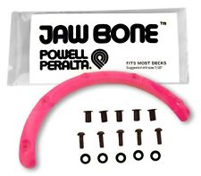 NOS Powell Peralta JAW BONE Skateboard Nose Guard Grab Rail PINK