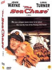 The Sea Chase (1955) DVD (Sealed) ~ John Wayne